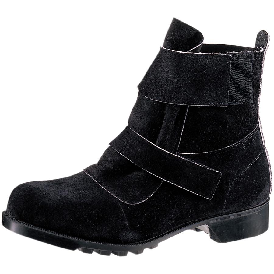 熱場作業用安全靴 V4009 ブラック