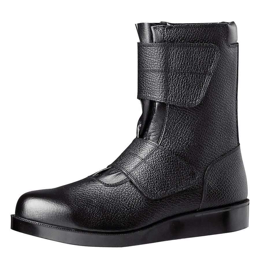舗装工事用安全靴 VR235 マジック ブラック 大