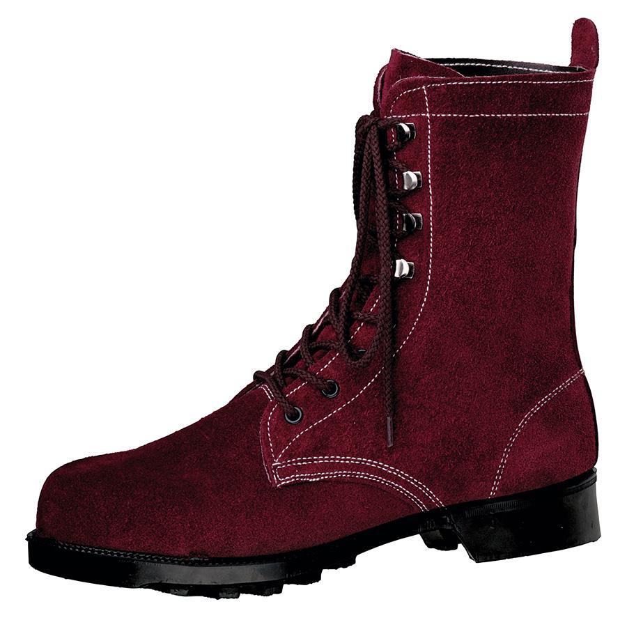 熱場作業用安全靴 W3901N ブラウン