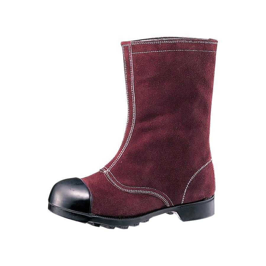熱場作業用安全靴 W344 ブラウン