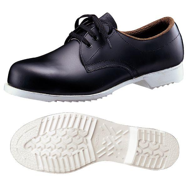 安全靴 CR251白底 ブラック