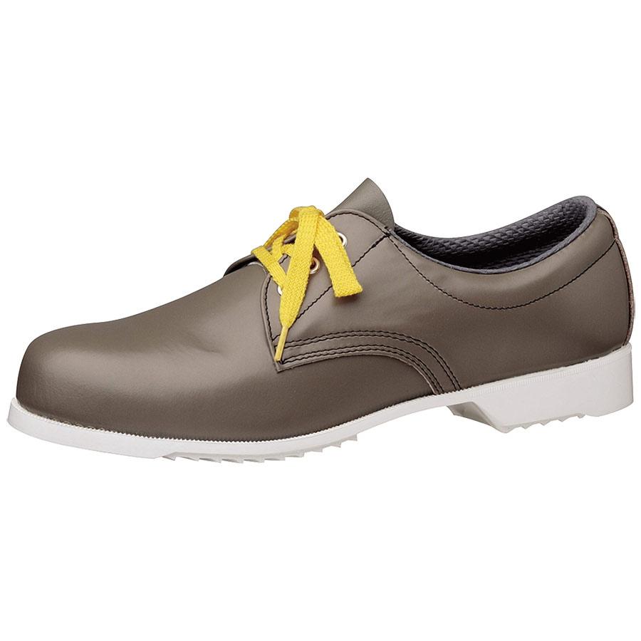 静電安全靴 CR251 #515 白底 静電 グレイ