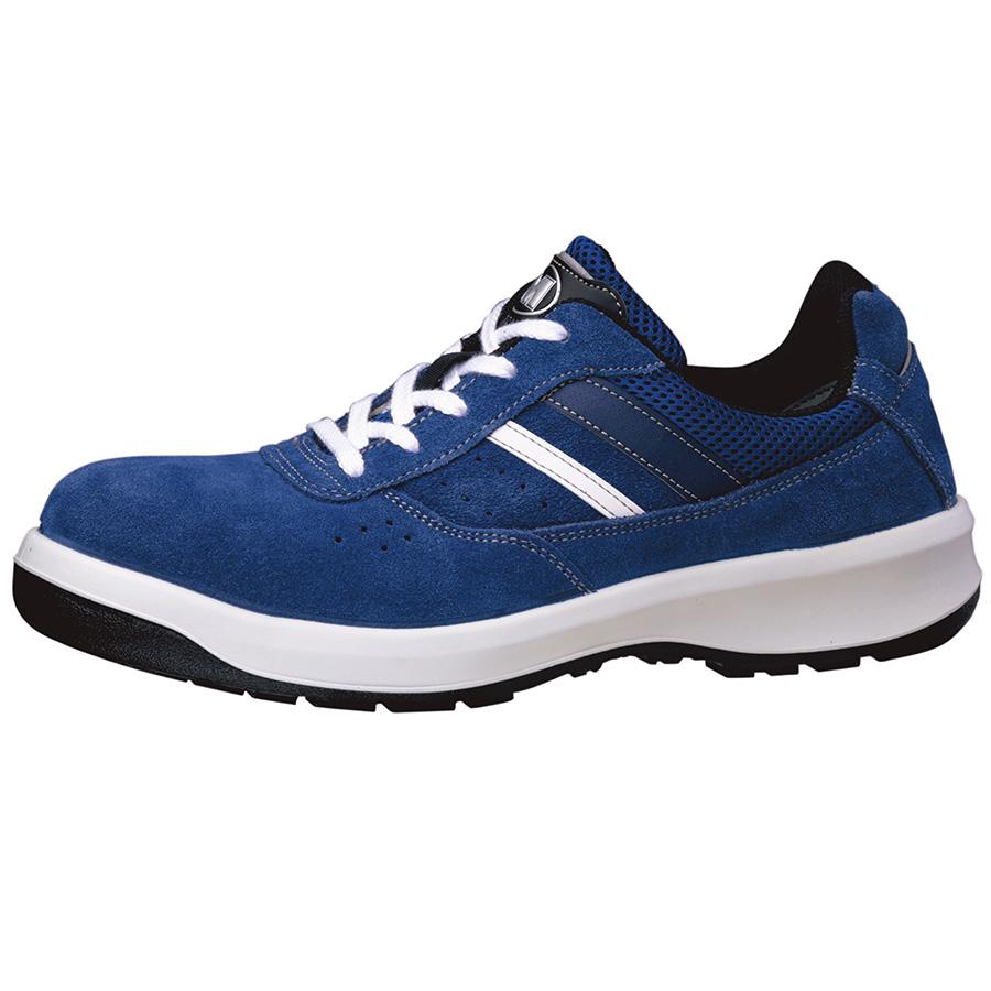 安全靴 G3550 (ひもタイプ) ブルー 大