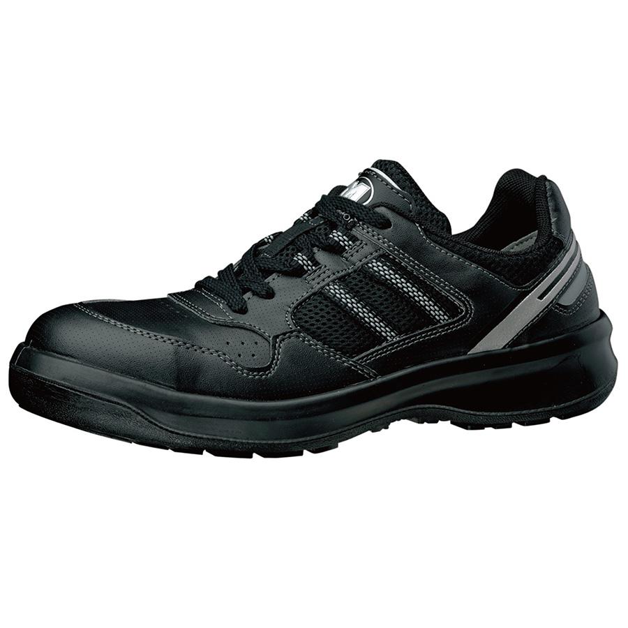 安全靴 G3690 (ひもタイプ) ブラック