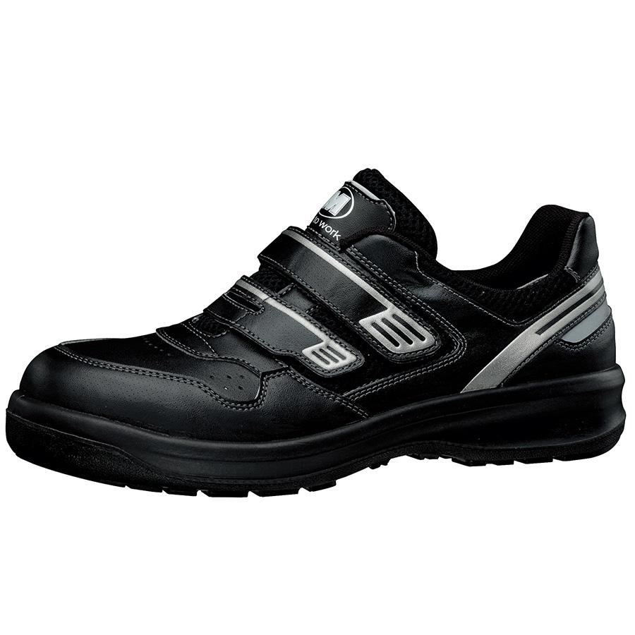 安全靴 G3695 (マジックタイプ) ブラック 大