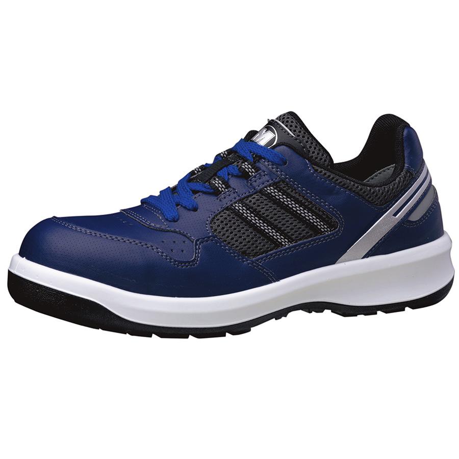 安全靴 G3690 (ひもタイプ) ネイビー 大
