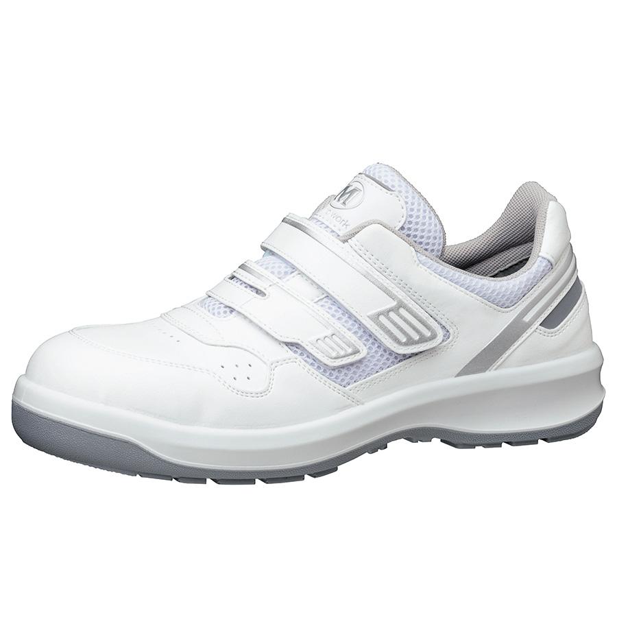 安全靴 G3695 (マジックタイプ) ホワイト 大