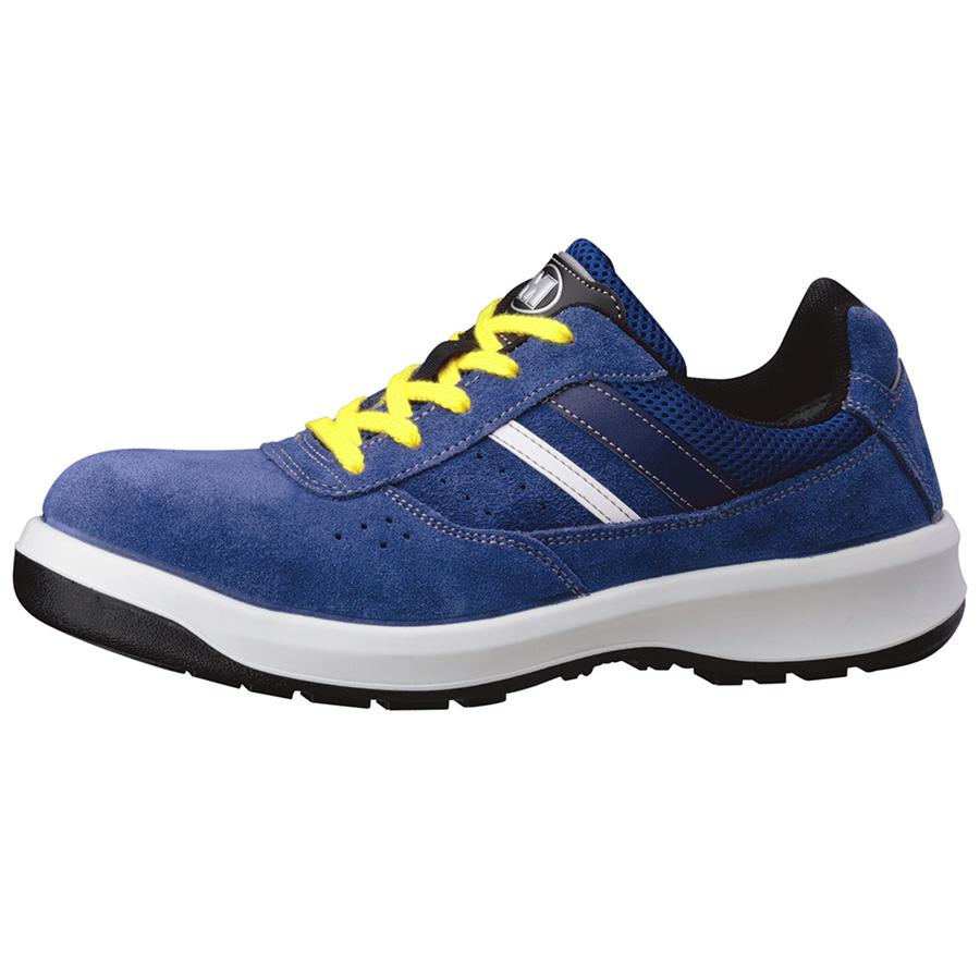 安全靴 G3550 静電 (ひもタイプ) ブルー