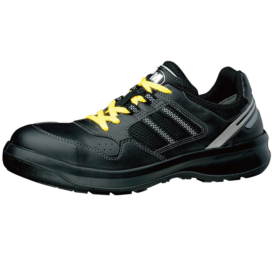 安全靴 G3690 (ひもタイプ) 静電 ブラック