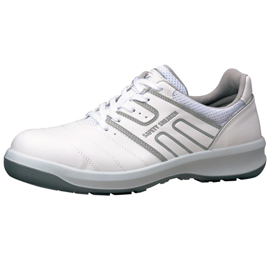 安全靴 G3590 (ひもタイプ) ホワイト 小