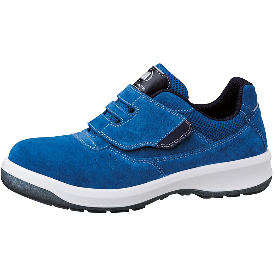 安全靴 G3555 (マジックタイプ) ブルー 小
