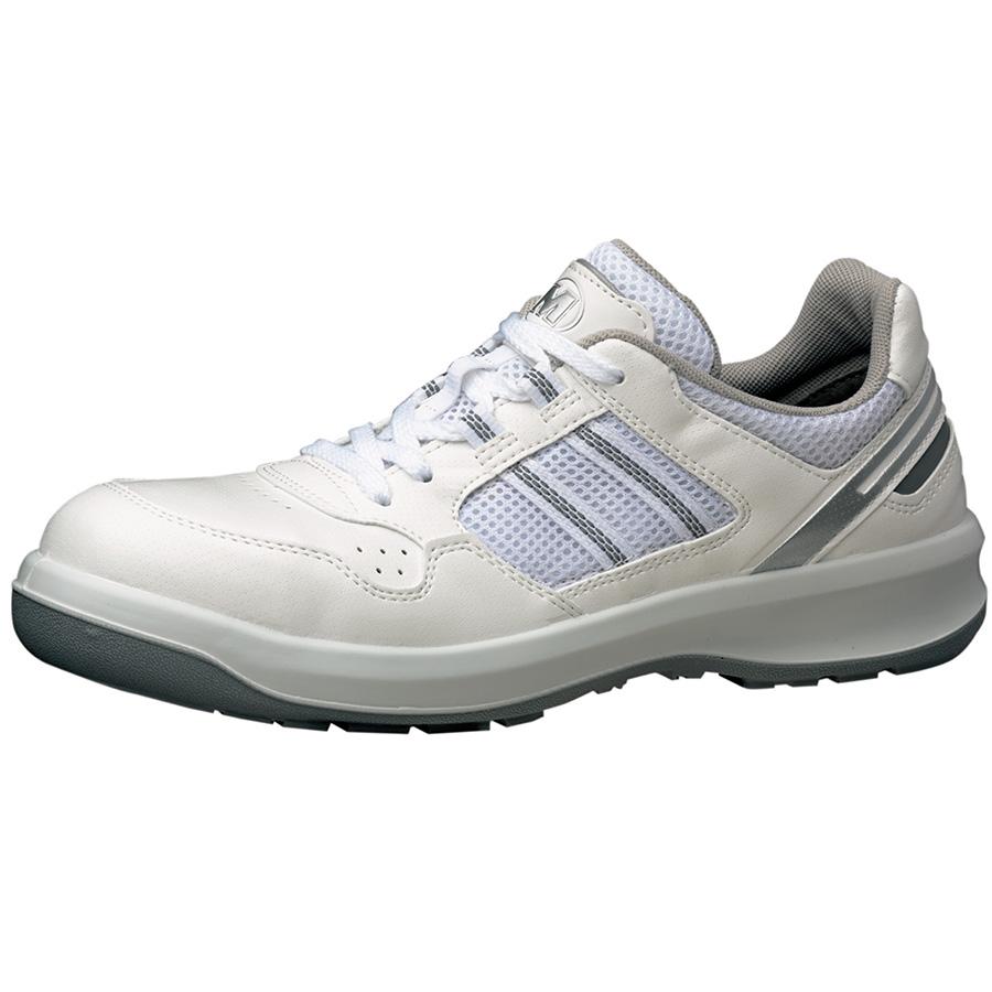 安全靴 G3690 (ひもタイプ) ホワイト 小