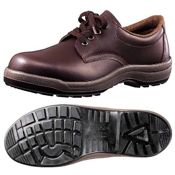 耐油・耐薬仕様安全靴 CF210NT ダークブラウン