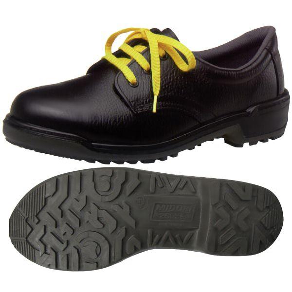 女性用 静電安全靴 LZ010J静電 ブラック