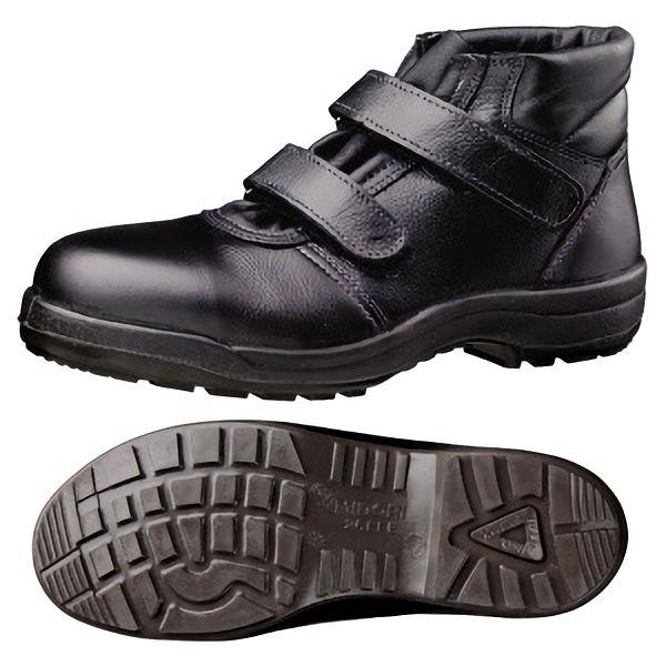 快適安全靴 ハイ・ベルデ コンフォート CF225 マジック ブラック