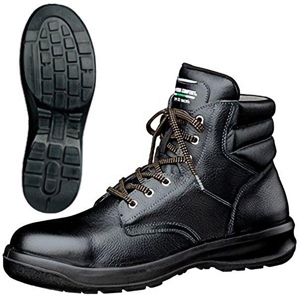 静電安全靴 新ハイ・ベルデコンフォート G3220 静電 ブラック 大