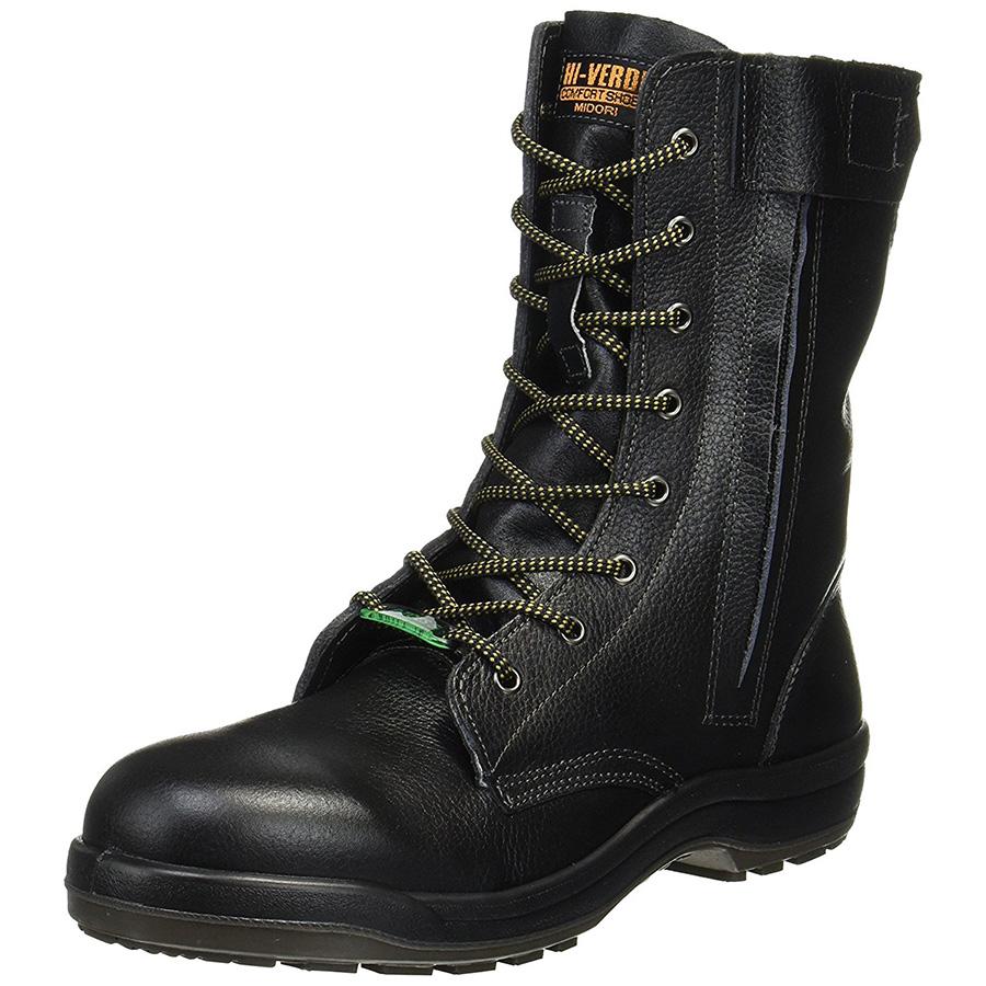 静電安全靴 プロテクトウズ5 PCF230F オールハトメ 静電 ブラック
