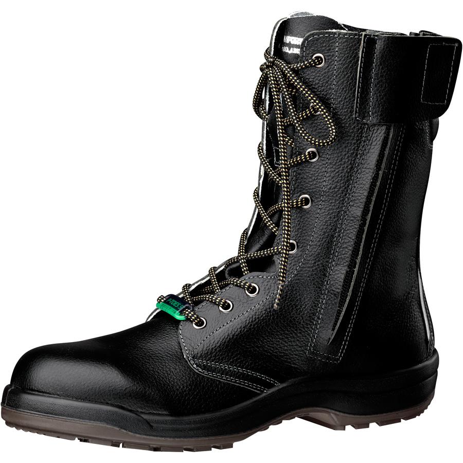 静電安全靴 プロテクトウズ5 PCF230FN オールハトメ 静電 ブラック