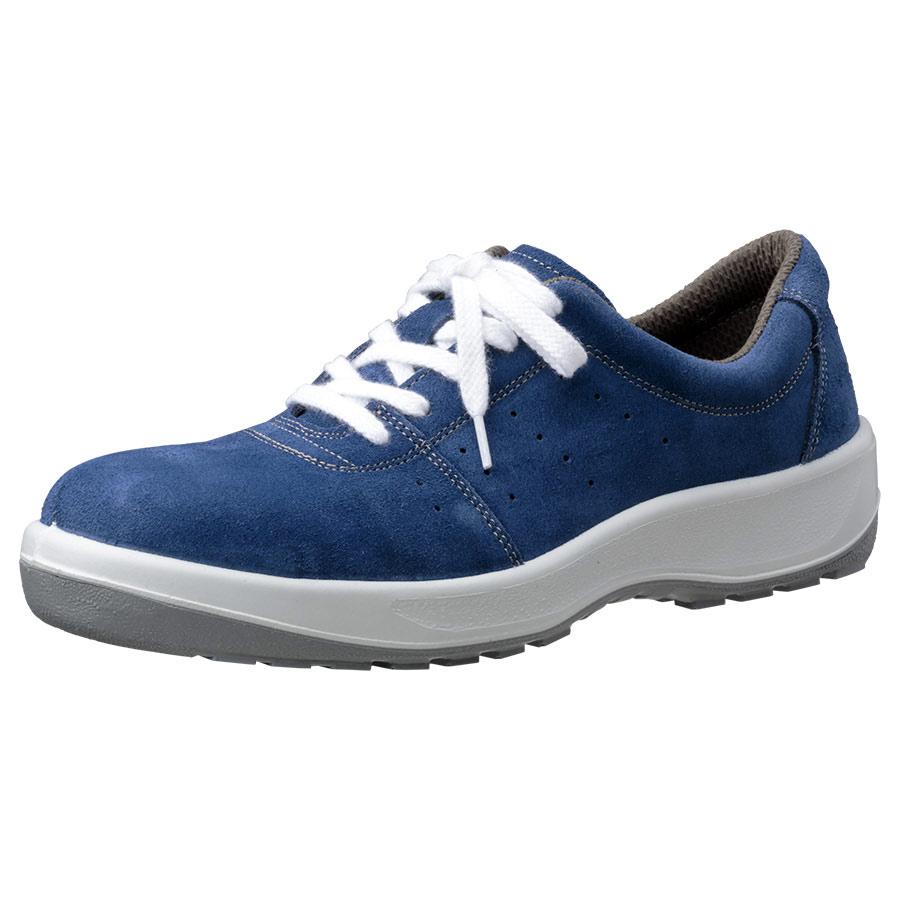 安全靴 MSN350 (ひもタイプ) ブルー