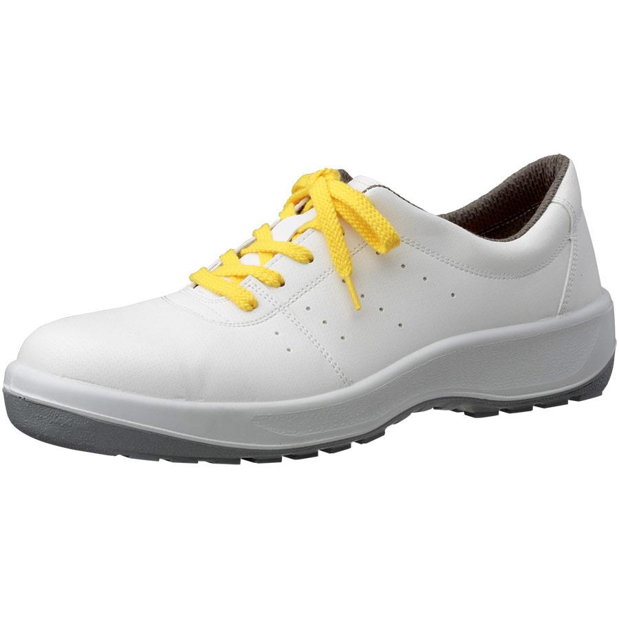 安全靴 MSN390 静電 (ひもタイプ) ホワイト 小