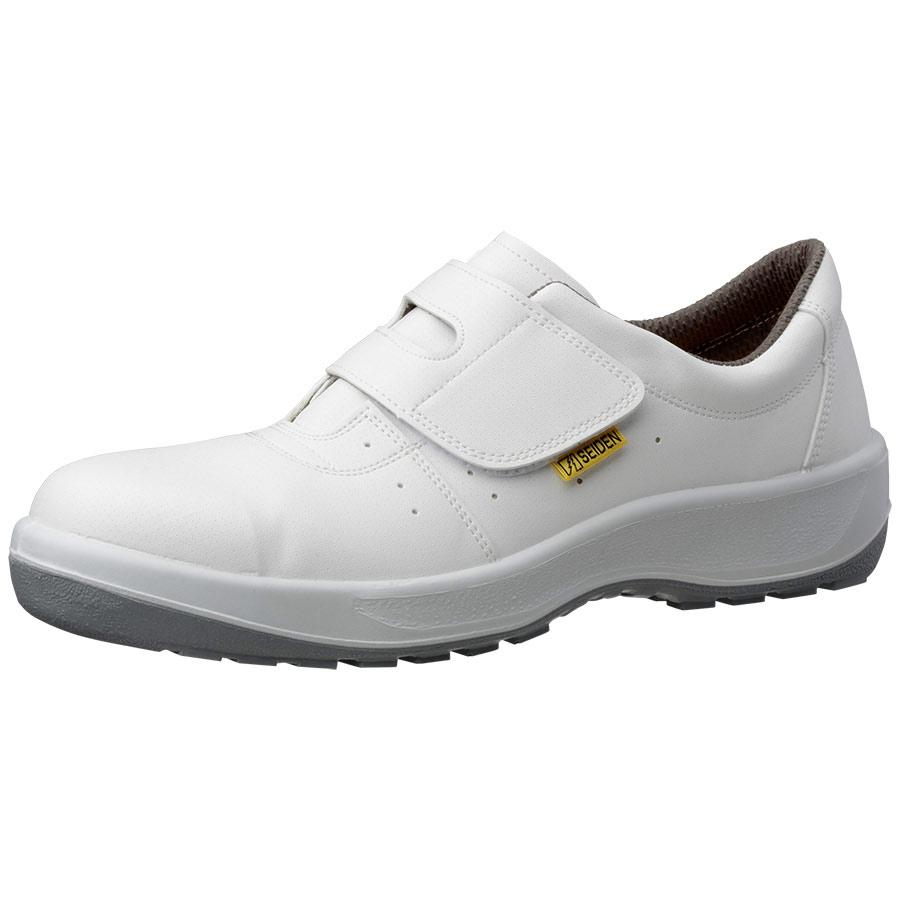 安全靴 MSN395 (マジックタイプ) 静電 ホワイト 小
