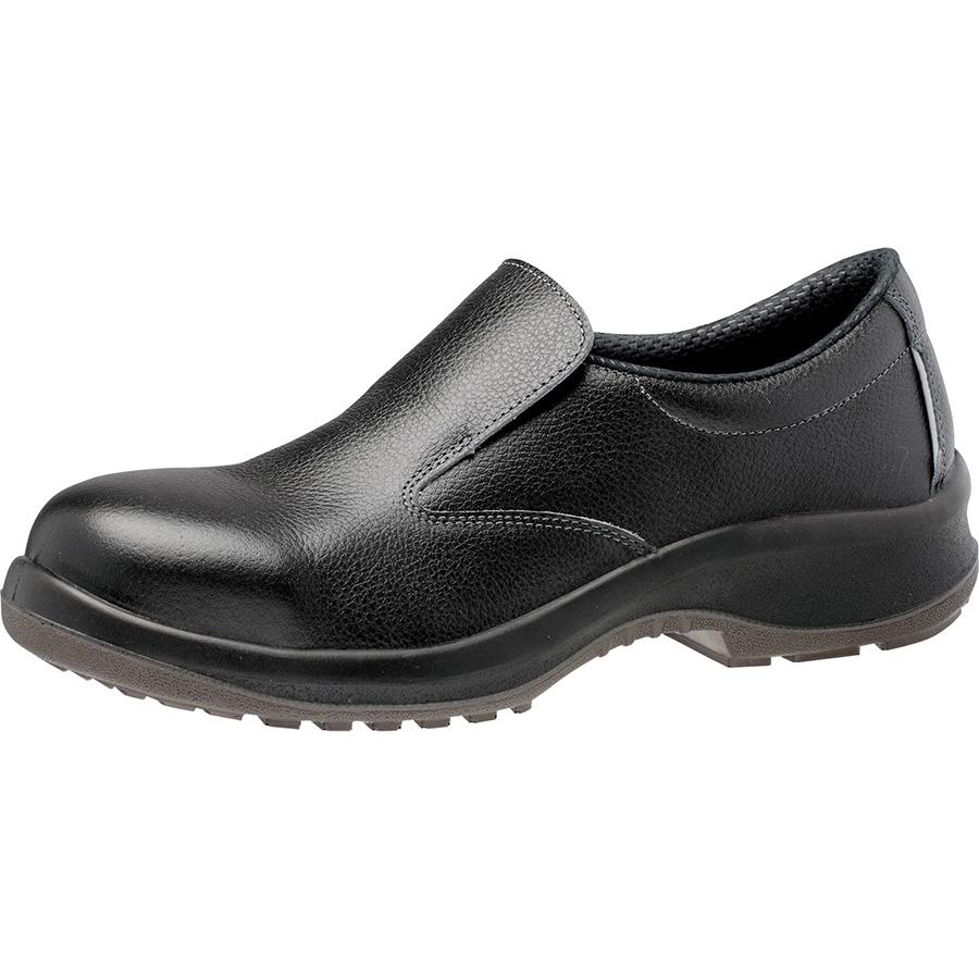 安全靴 プレミアムコンフォート PRM200 ブラック スリッポン