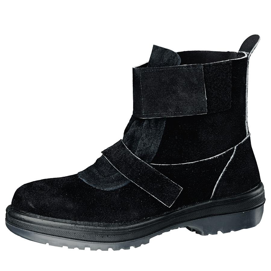 熱場作業用安全靴 RT4009 ブラック