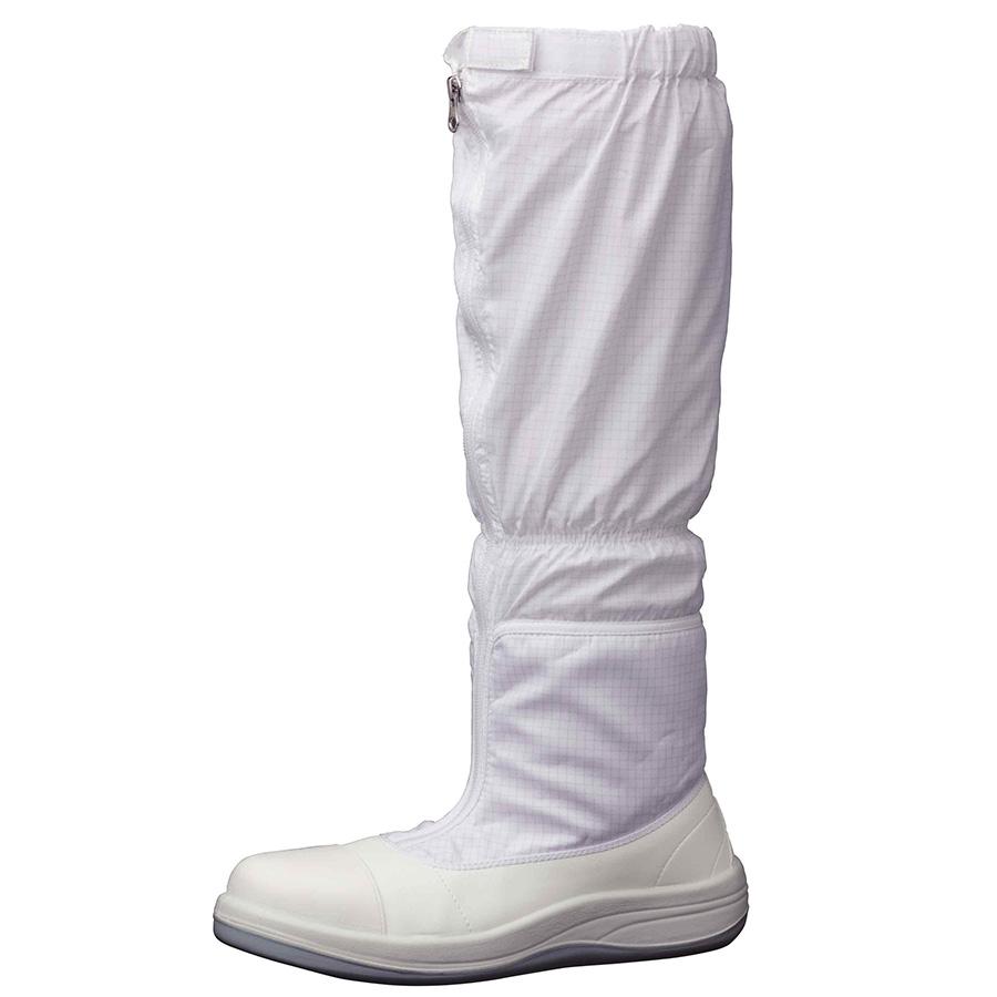 静電安全靴 SCR1200 フルCAP フード ホワイト