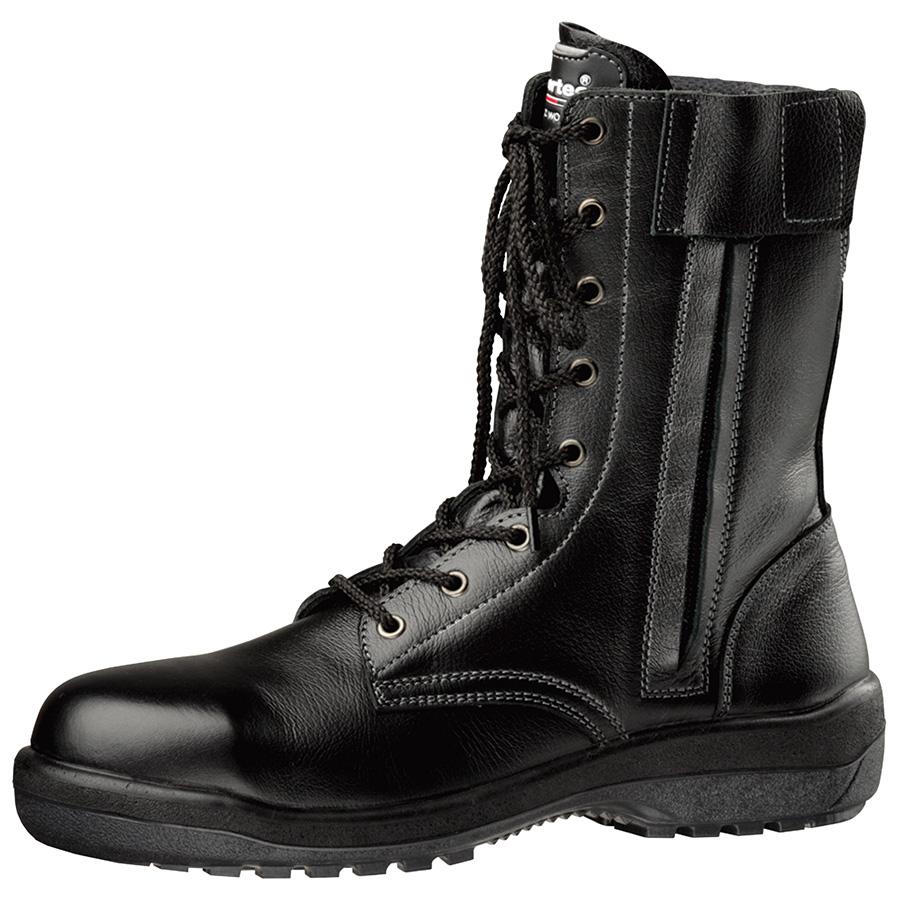 安全靴 RT730F オールハトメ ブラック