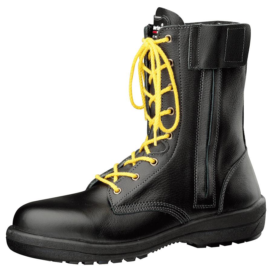 静電安全靴 RT730F オールハトメ 静電 ブラック