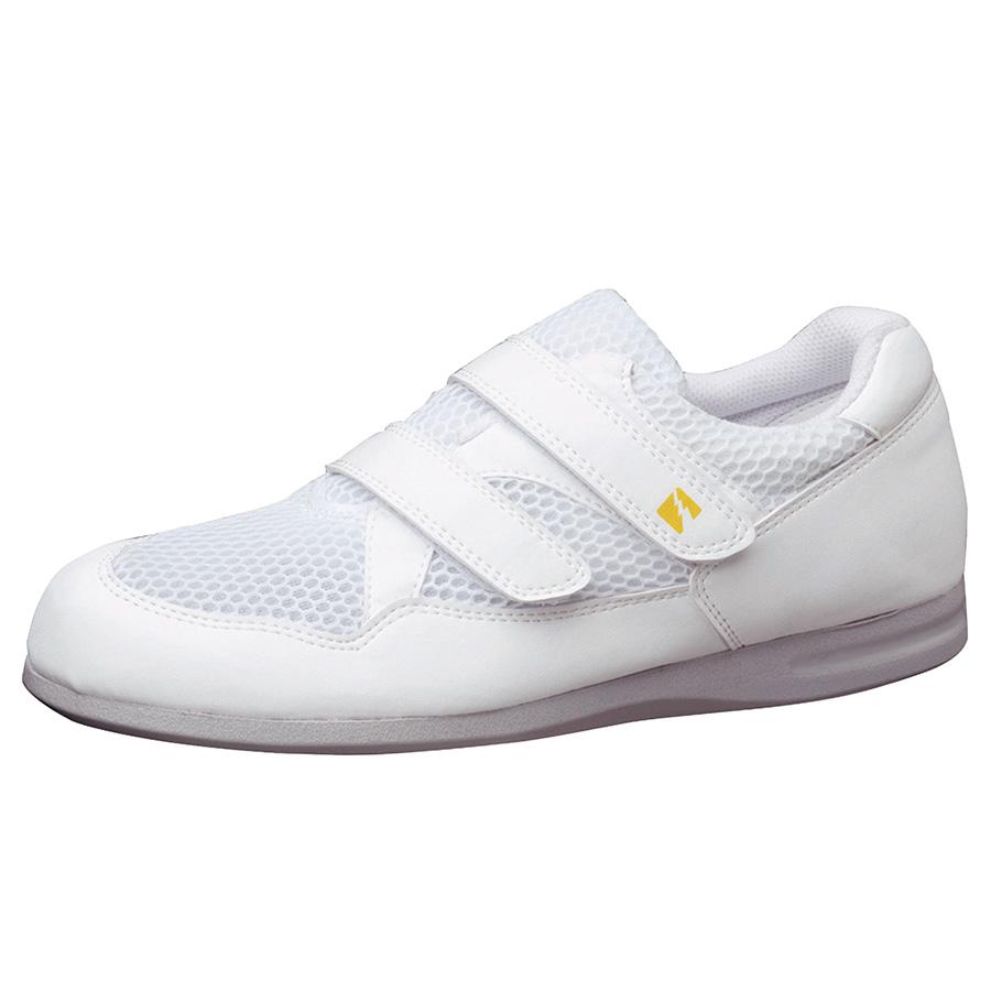 静電作業靴 PS−15S ホワイト