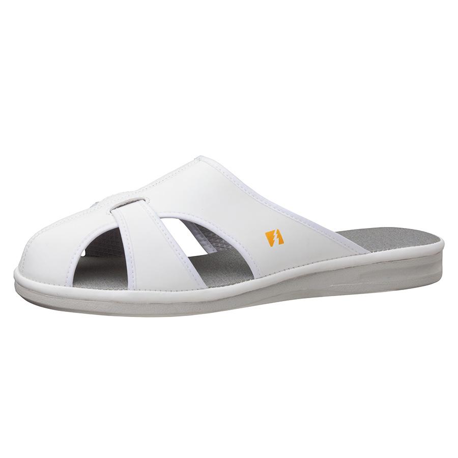 静電作業靴 PS−01ライトS ホワイト