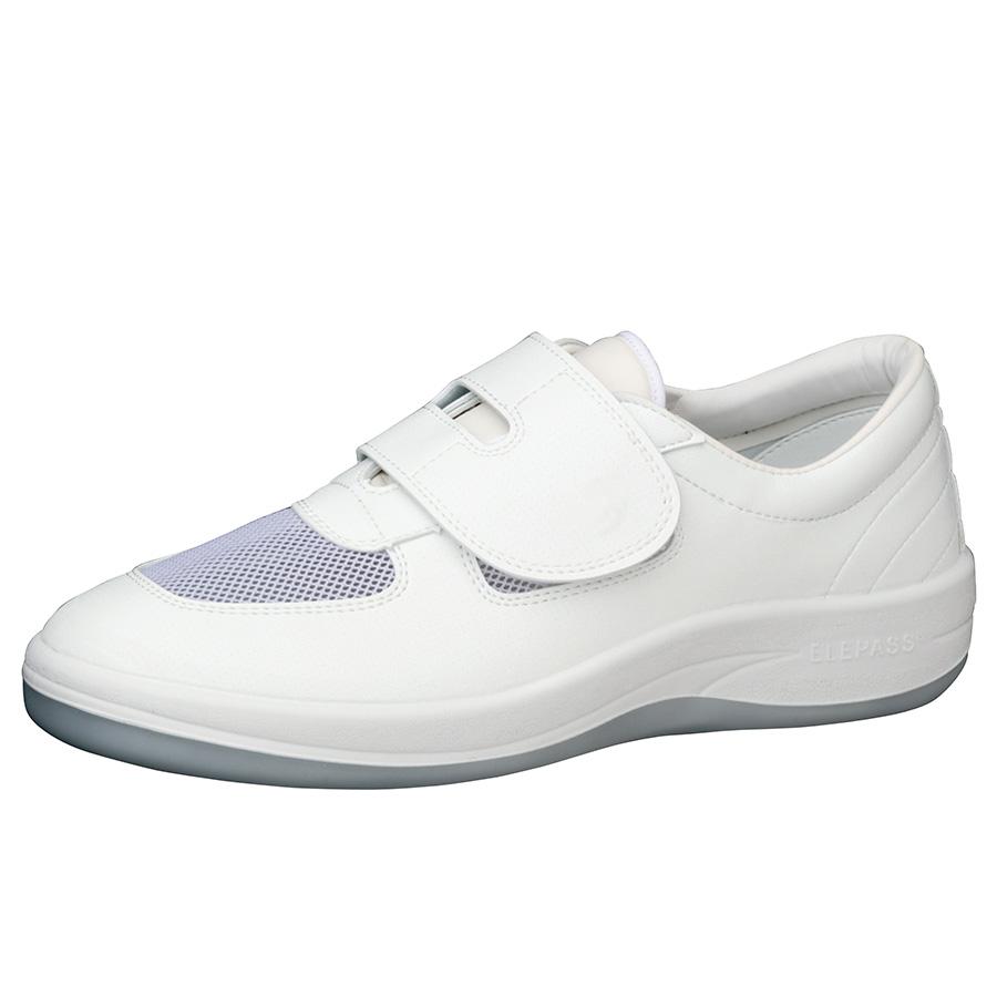 男女兼用 静電作業靴 エレパス SU403 ホワイト 小