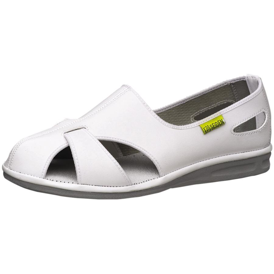 静電作業靴 エレパスクールN ホワイト 大