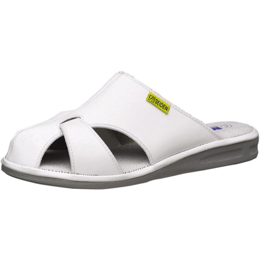 静電作業靴 エレパスクールライトN ホワイト