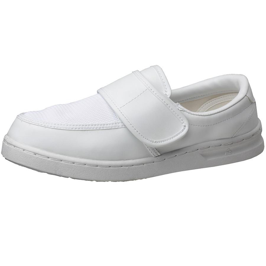 男女兼用 静電作業靴 エレパス M103 ホワイト 大