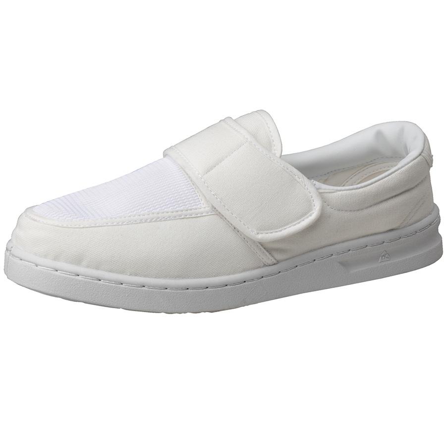 男女兼用 静電作業靴 エレパス M113 ホワイト