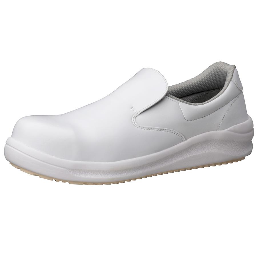 先芯入り超耐滑作業靴 ハイグリップスーパー NHS−600 ホワイト
