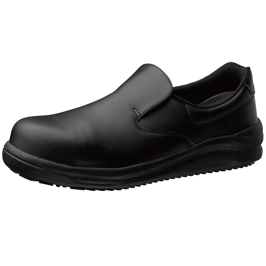 先芯入り超耐滑作業靴 ハイグリップスーパー NHS−600 ブラック