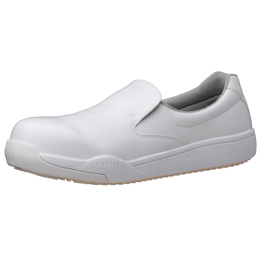 ハイグリップ作業靴 プロテクトウズ5 PHS−600 ホワイト 大