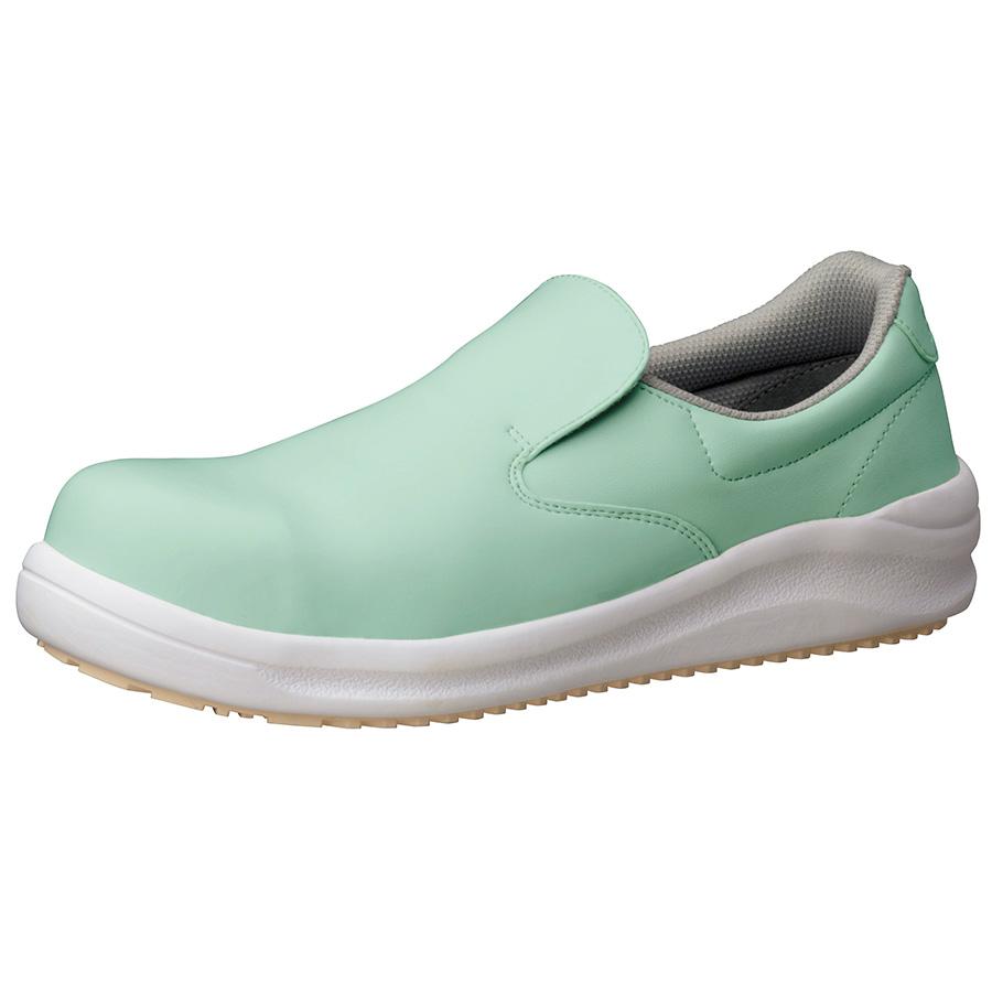 先芯入り超耐滑作業靴 ハイグリップスーパー NHS−600 グリーン