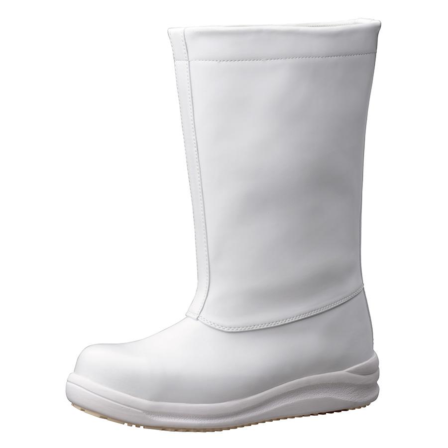 先芯入り超耐滑作業靴 ハイグリップスーパー NHS−640 ホワイト
