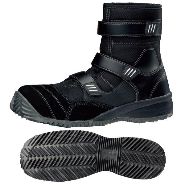 屈曲作業向け 先芯入り作業靴 トビスニ TS−125 ブラック
