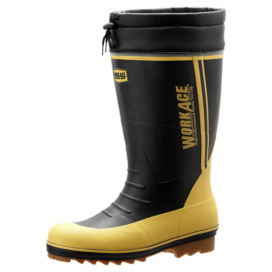 防寒用インナー式安全長靴 ワークプラスブーツ MPB−810N ブラック