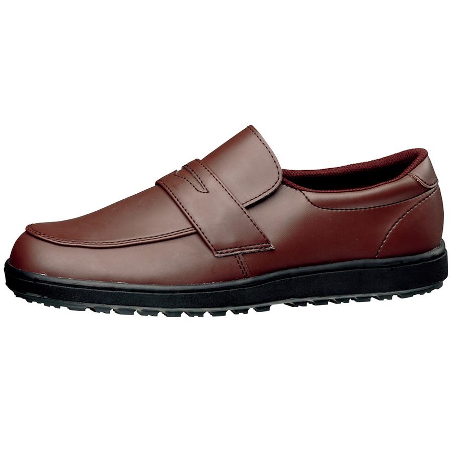 超耐滑作業靴 ハイグリップ H−230D ブラウン 大