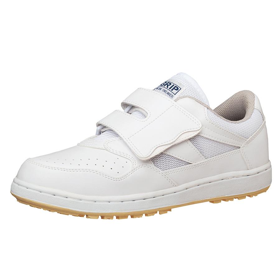 超耐滑作業靴 ハイグリップ H−115P ホワイト 大