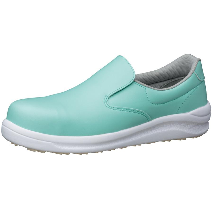 粉職場用 コナグリップ 先芯入り作業靴 CG−600 グリーン