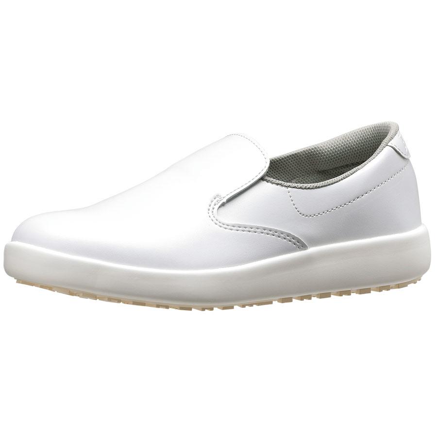 超耐滑軽量作業靴 ハイグリップ H−700N ホワイト 大
