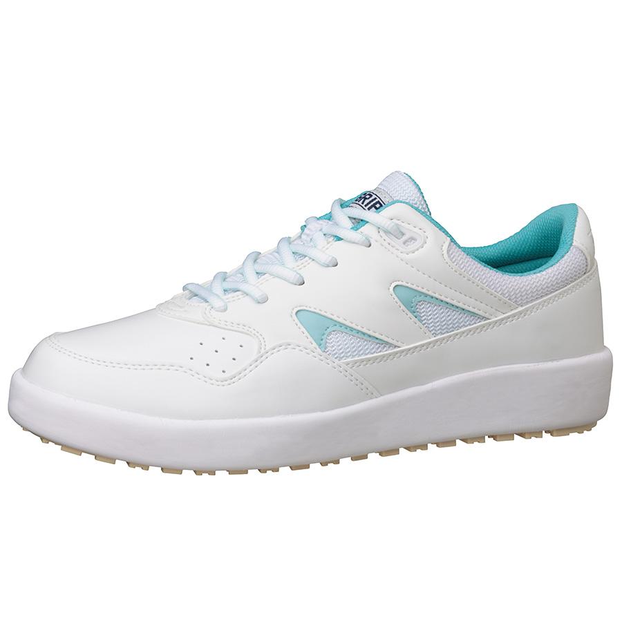 超耐滑軽量作業靴 ハイグリップ H−710N ブルー 大
