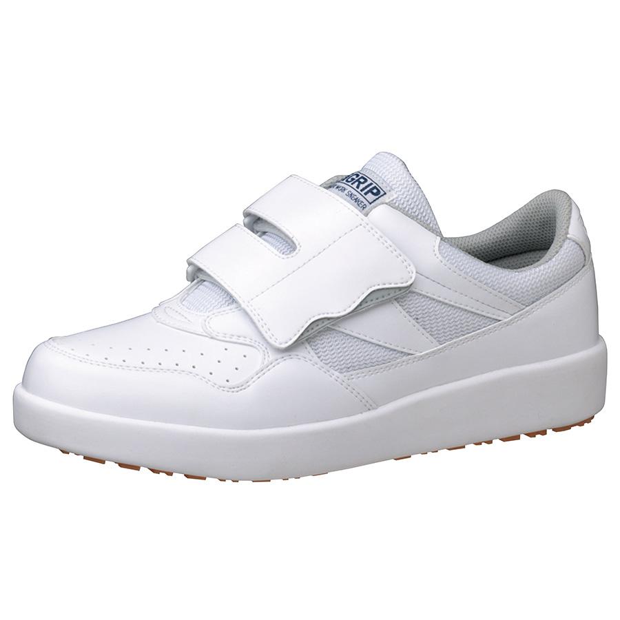超耐滑軽量作業靴 ハイグリップ H−716N ホワイト